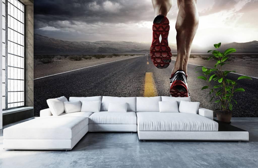 Sport en Fitness - Benen van een renner - Garage 7