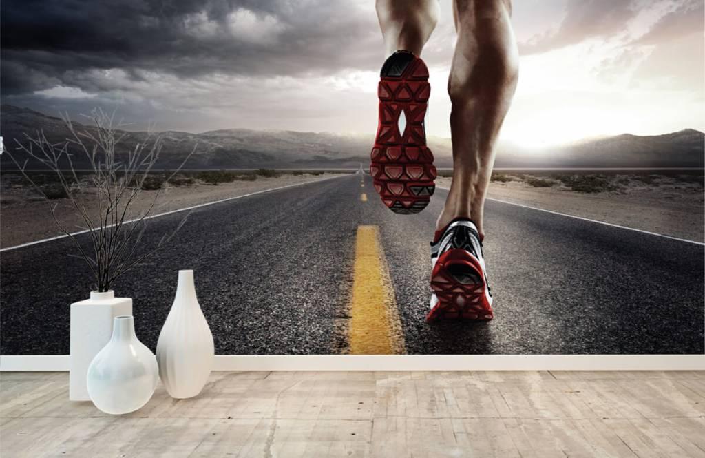 Sport en Fitness - Benen van een renner - Garage 9