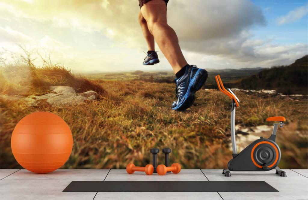 Sport en Fitness - Jogger in actie - Garage 1