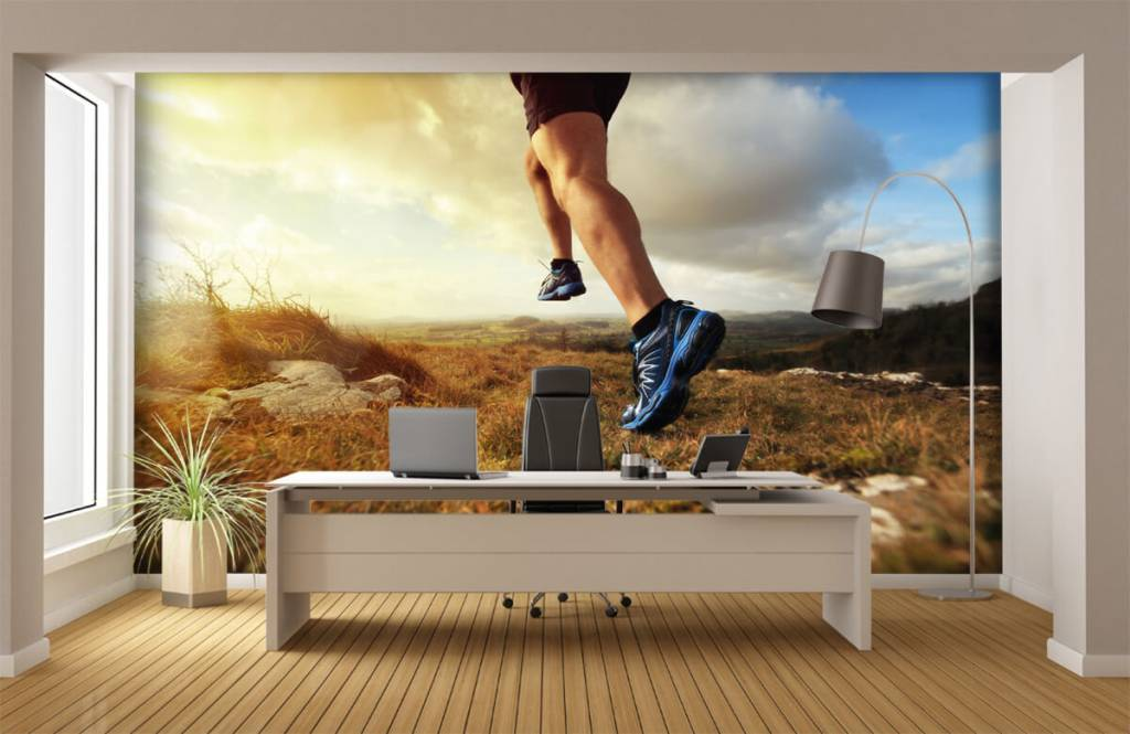 Sport en Fitness - Jogger in actie - Garage 4