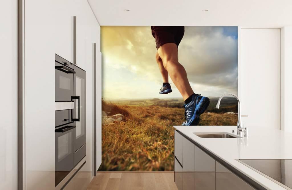 Sport en Fitness - Jogger in actie - Garage 5