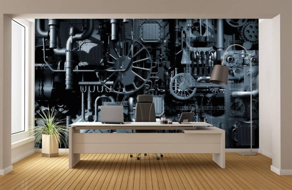 Elementen - Oude machine - Garage 1