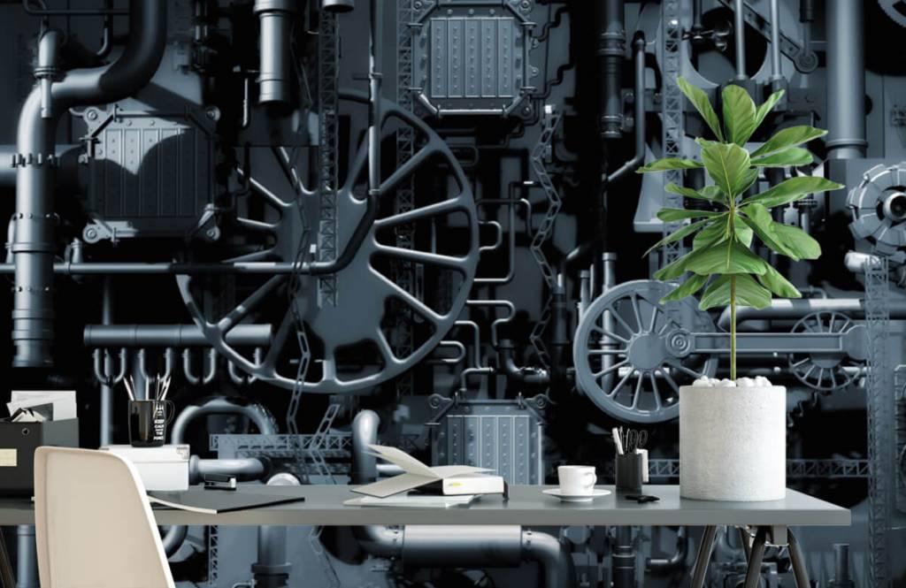 Elementen - Oude machine - Garage 2
