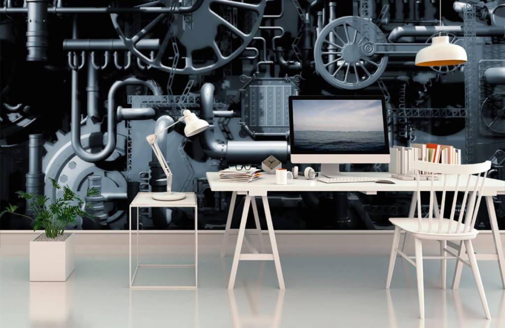 Elementen - Oude machine - Garage 3