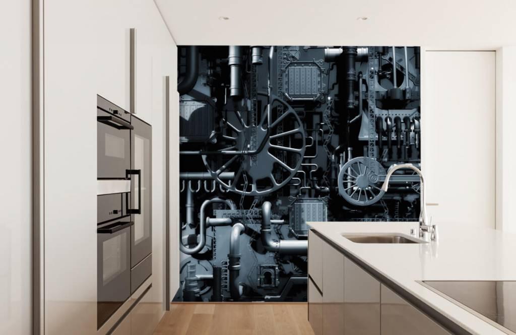 Elementen - Oude machine - Garage 4