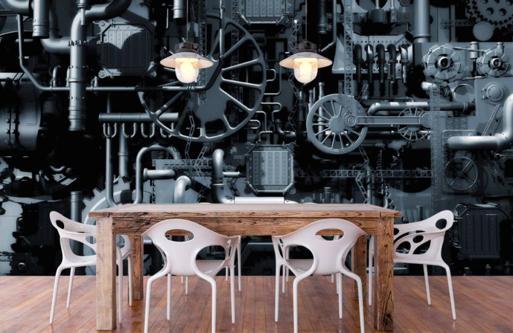 Elementen - Oude machine - Garage 6