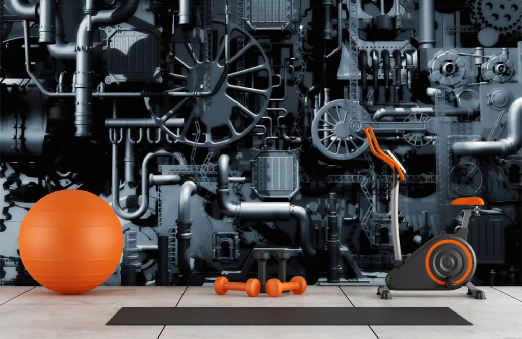Elementen - Oude machine - Garage 8