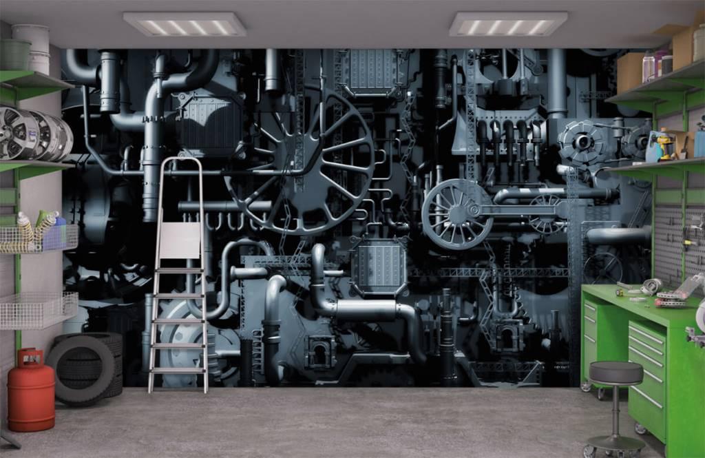 Elementen - Oude machine - Garage 9