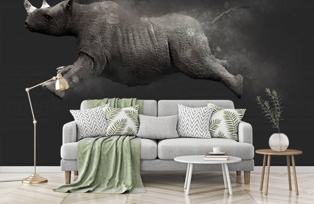 Overige - Springende neushoorn - Tienerkamer 6