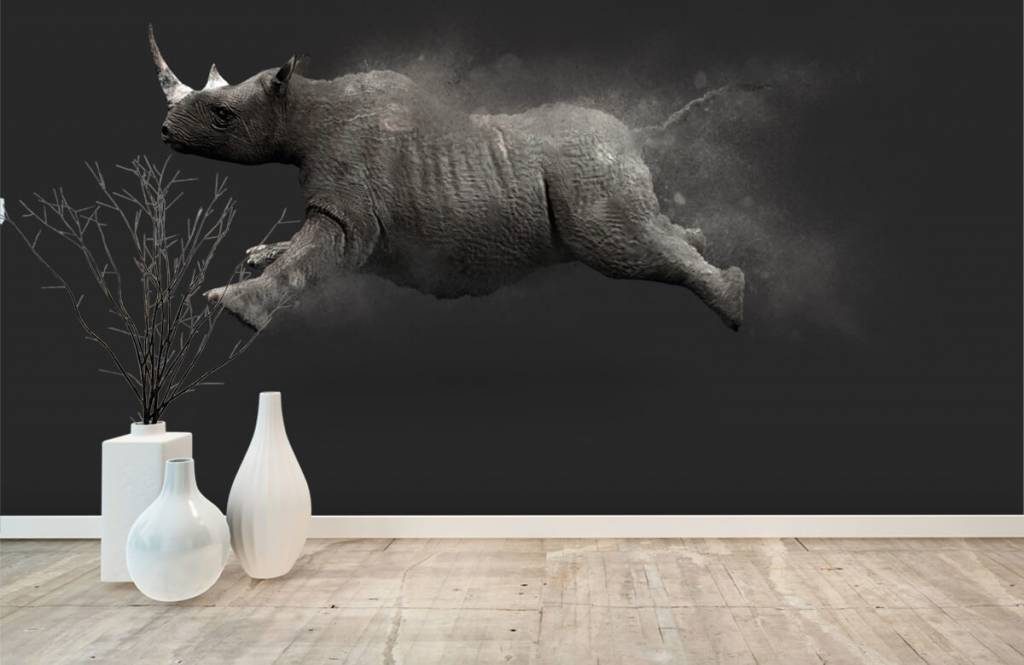 Overige - Springende neushoorn - Tienerkamer 7