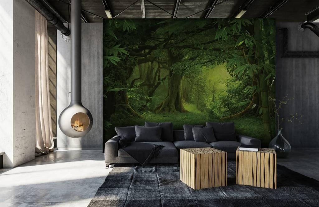 Bomen - Tropische jungle - Slaapkamer 6