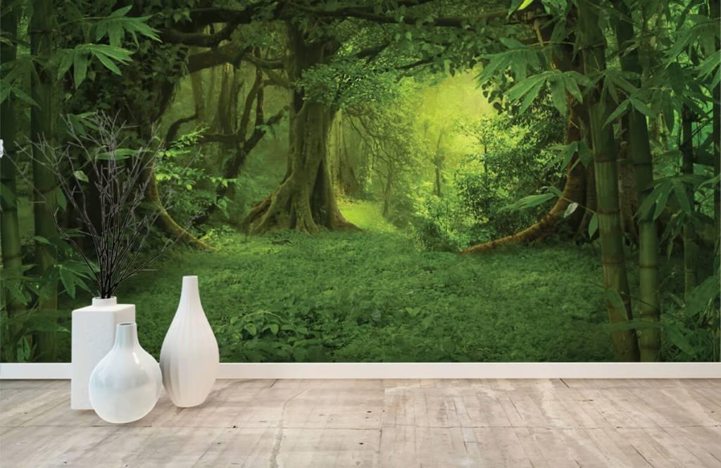 Bomen - Tropische jungle - Slaapkamer 8