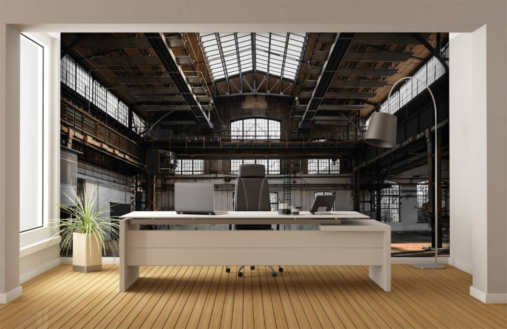 Gebouwen - Verlaten industriële hal - Slaapkamer 4
