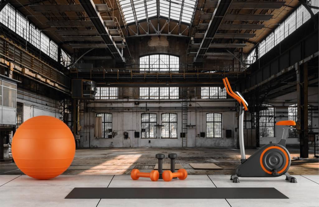 Gebouwen - Verlaten industriële hal - Slaapkamer 8