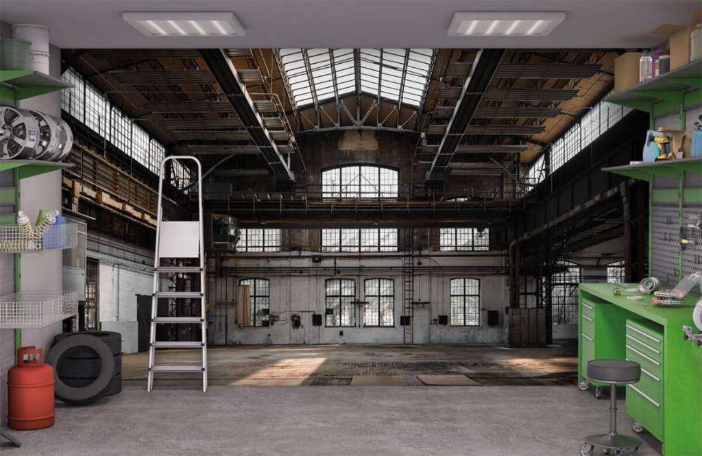 Gebouwen - Verlaten industriële hal - Slaapkamer 9