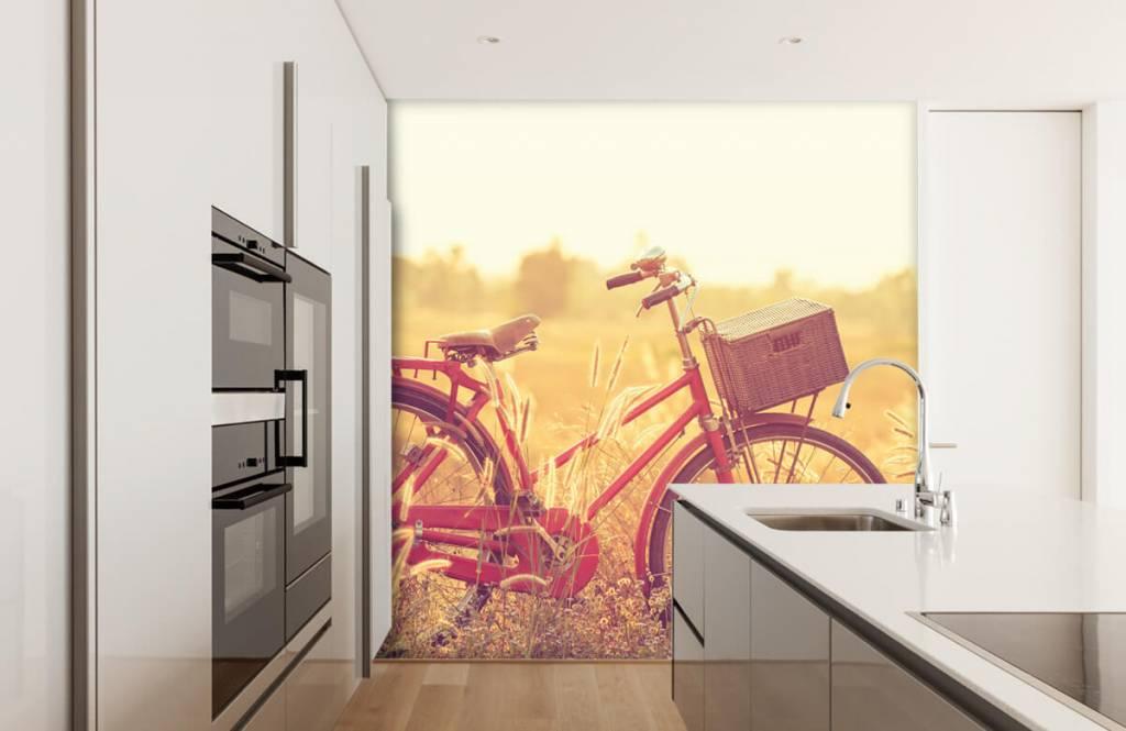 Landschap - Vintage fiets - Slaapkamer 3
