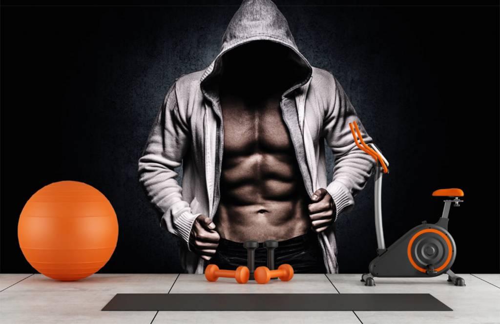 Fitness - Gespierde man - Hobbykamer 1