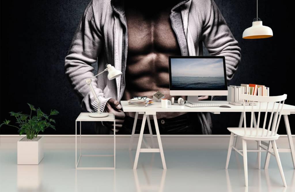 Fitness - Gespierde man - Hobbykamer 3