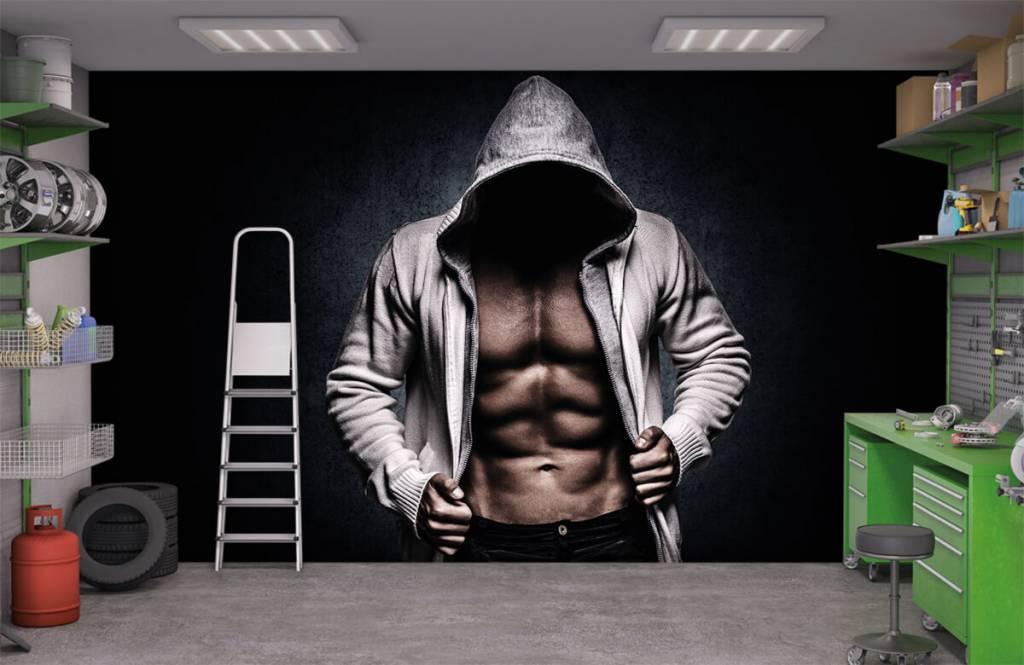 Fitness - Gespierde man - Hobbykamer 4