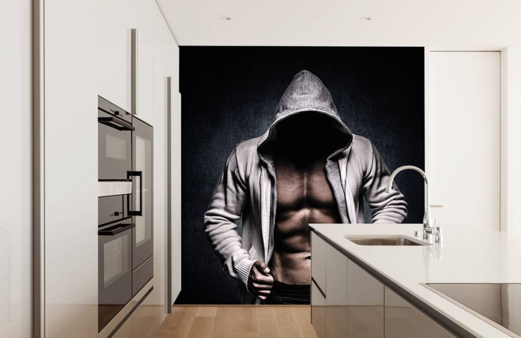 Fitness - Gespierde man - Hobbykamer 6