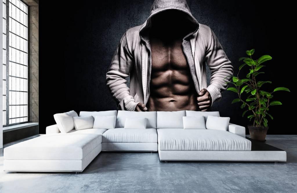 Fitness - Gespierde man - Hobbykamer 7