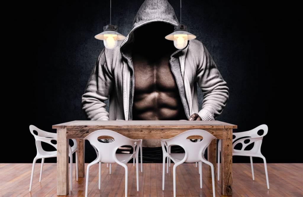 Fitness - Gespierde man - Hobbykamer 8