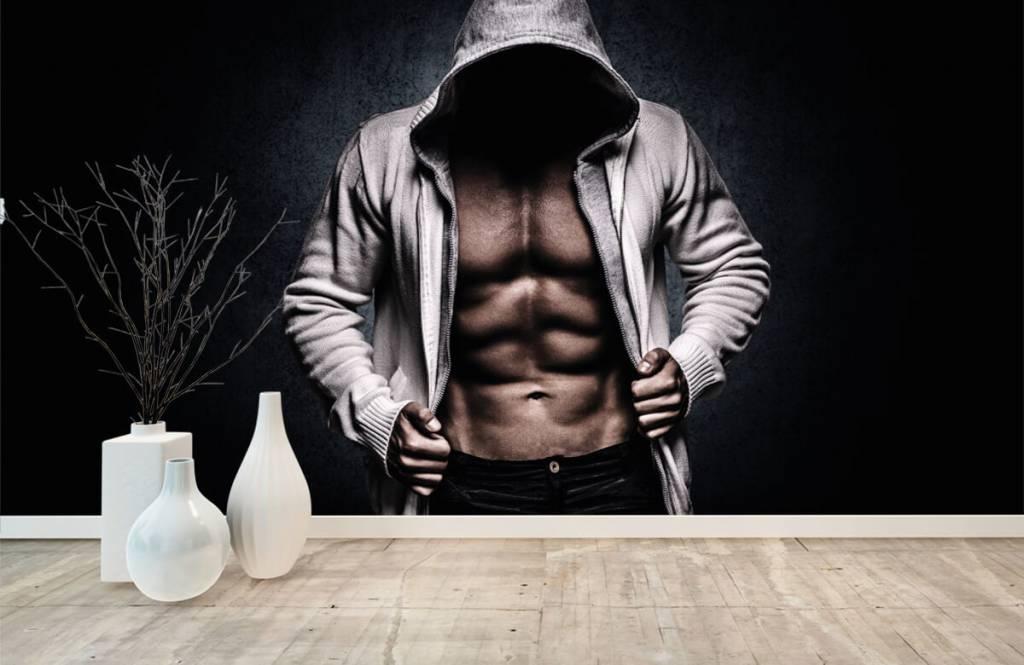 Fitness - Gespierde man - Hobbykamer 9