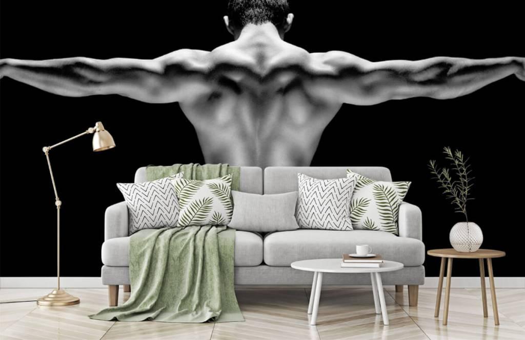 Fitness - Man met gestrekte armen - Garage 5