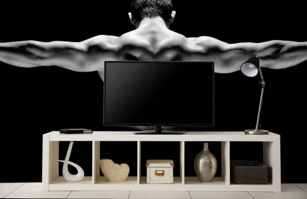 Fitness - Man met gestrekte armen - Garage 7