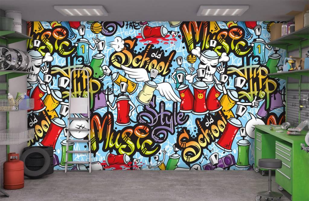 Kinderbehang - Verschillende muziekstijlen - Kinderkamer 9