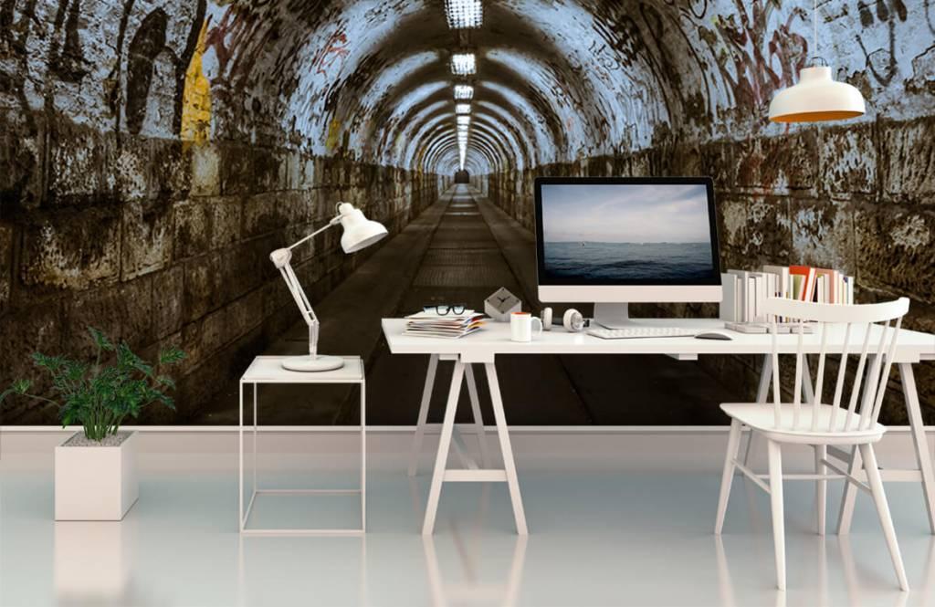 Overige - Graffiti tunnel 3D - Tienerkamer 6