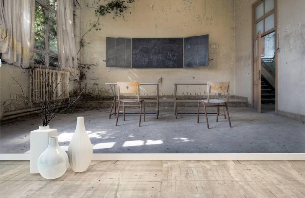 Gebouwen - Green school - Hobbykamer 8