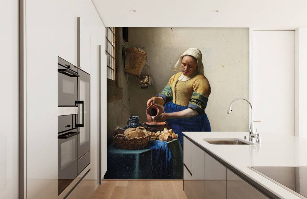 Rijksmuseum - Het melkmeisje - Slaapkamer 1