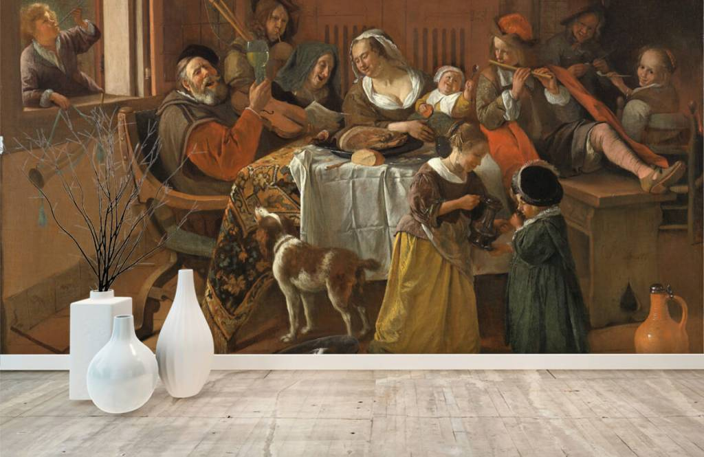 Rijksmuseum - Het vrolijke huisgezin - Woonkamer 2
