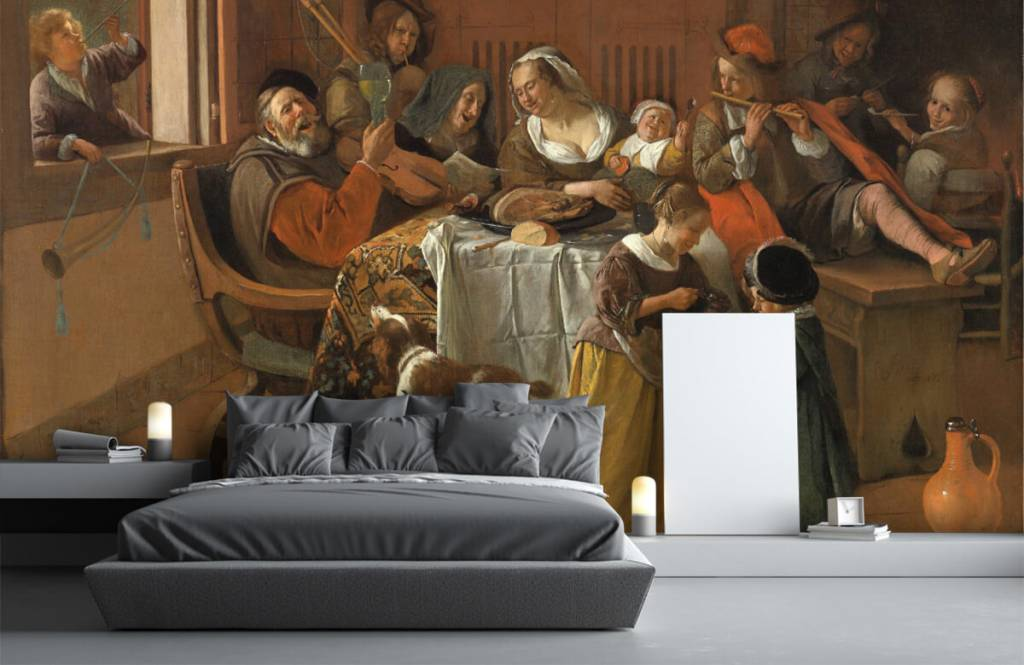 Rijksmuseum - Het vrolijke huisgezin - Woonkamer 3