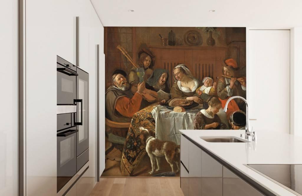 Rijksmuseum - Het vrolijke huisgezin - Woonkamer 4