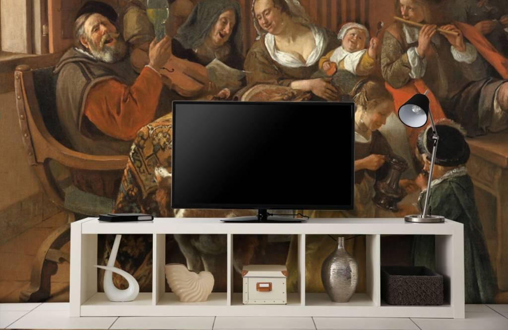 Rijksmuseum - Het vrolijke huisgezin - Woonkamer 5
