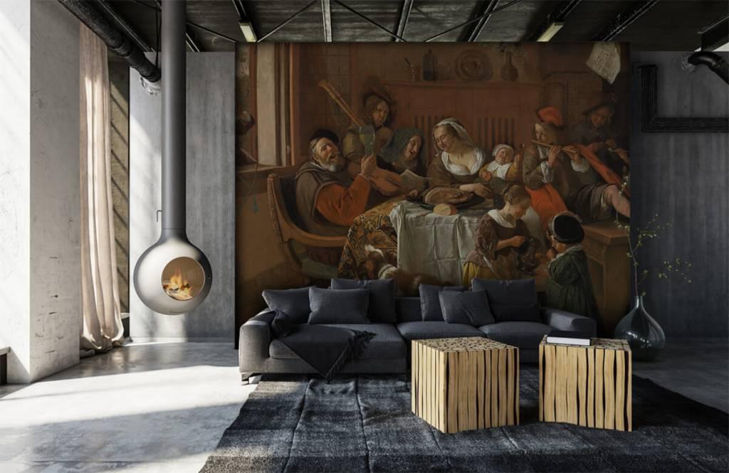 Rijksmuseum - Het vrolijke huisgezin - Woonkamer 6