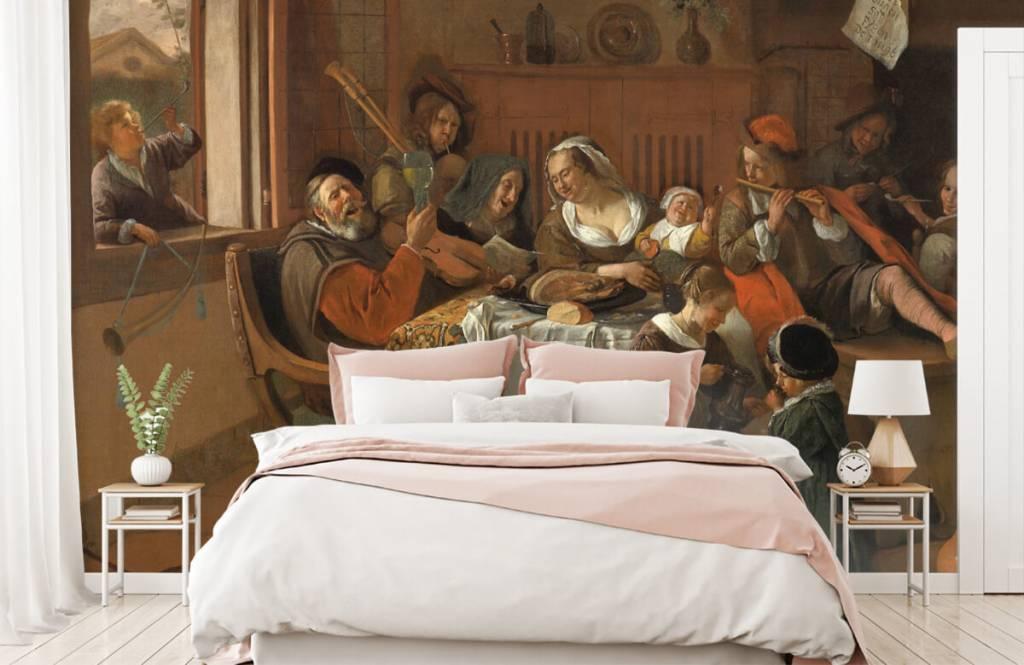 Rijksmuseum - Het vrolijke huisgezin - Woonkamer 8