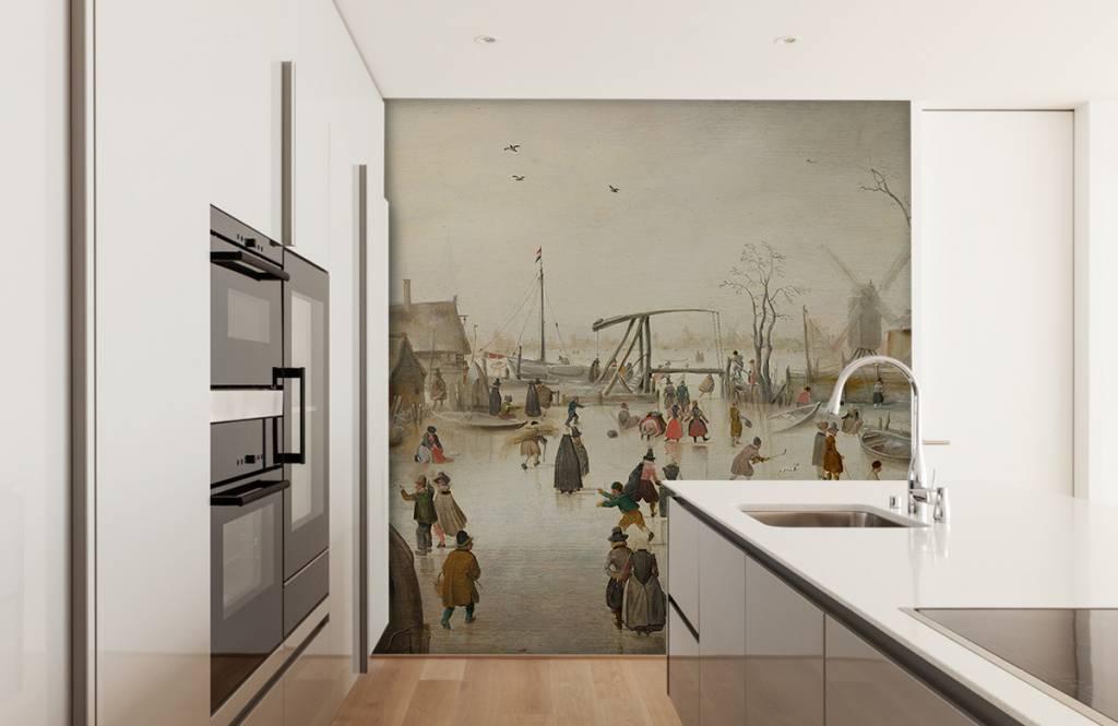 Rijksmuseum - IJsvermaak - Woonkamer 2