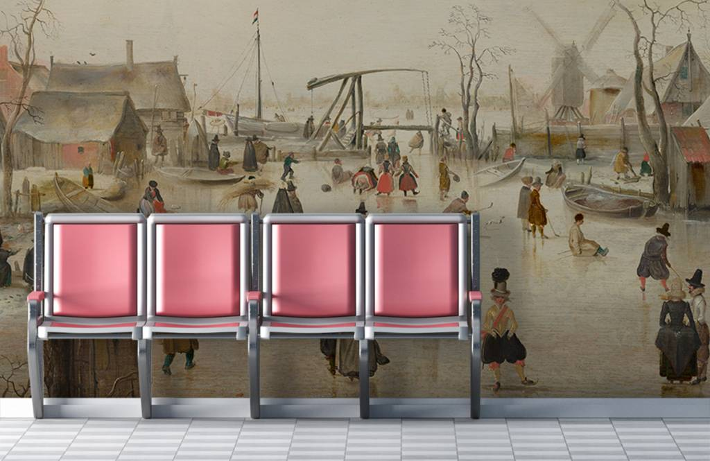 Rijksmuseum - IJsvermaak - Woonkamer 3