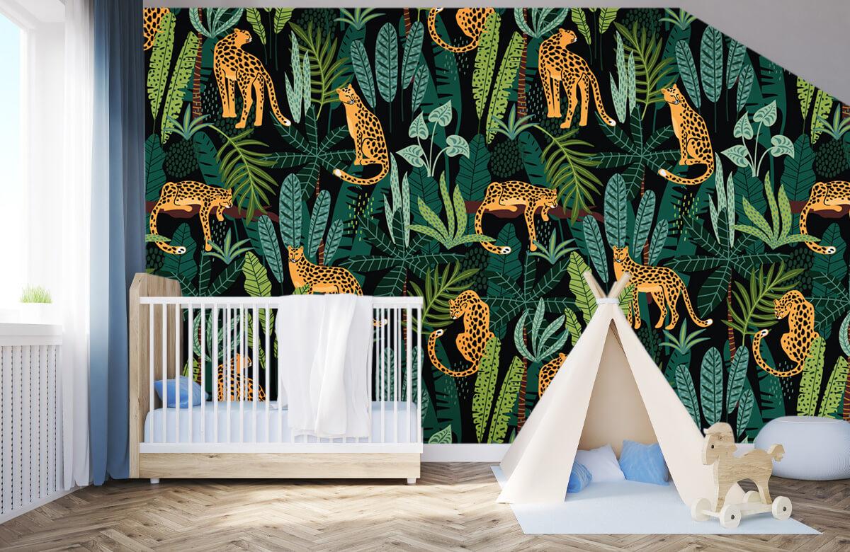 Jungle - In de jungle - Kinderkamer 3