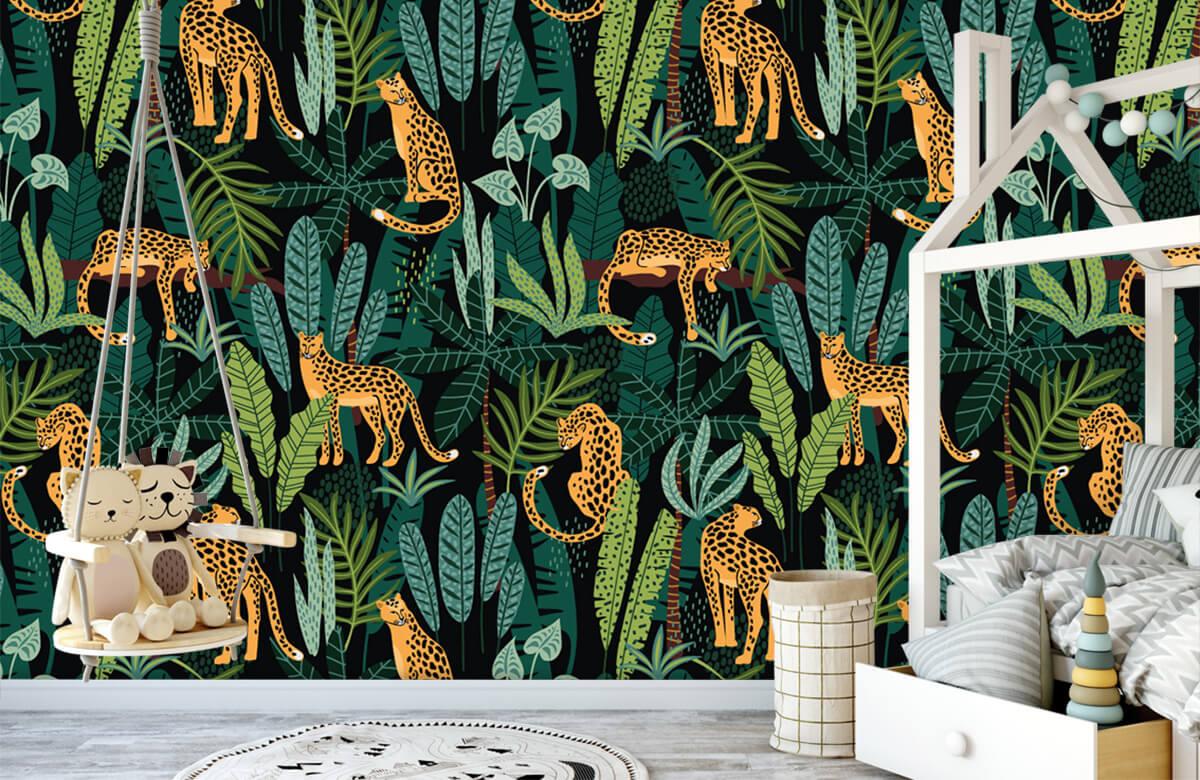 Jungle - In de jungle - Kinderkamer 1
