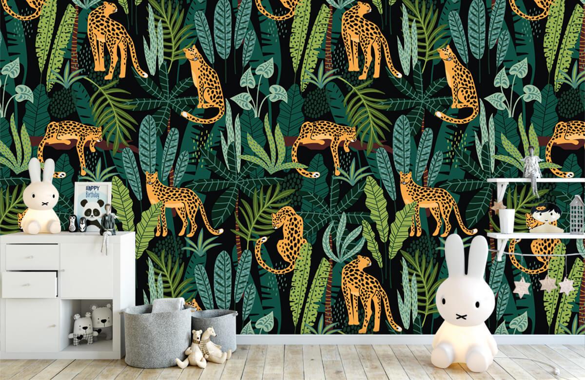Jungle - In de jungle - Kinderkamer 4