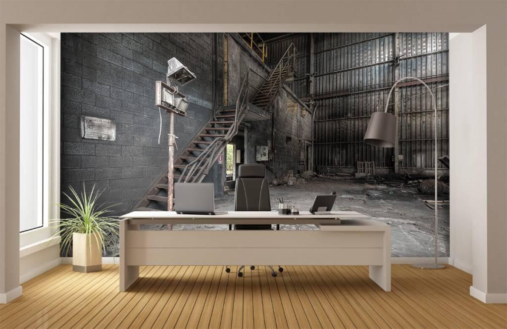 Trappen - Industrieel pandje - Slaapkamer 2
