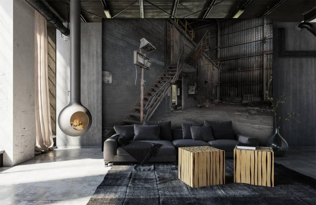 Trappen - Industrieel pandje - Slaapkamer 4