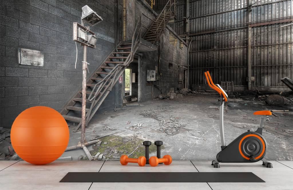 Trappen - Industrieel pandje - Slaapkamer 5