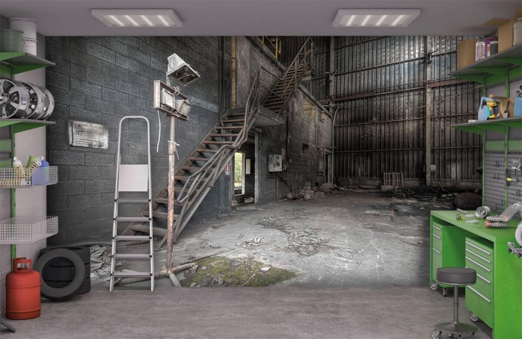 Trappen - Industrieel pandje - Slaapkamer 6