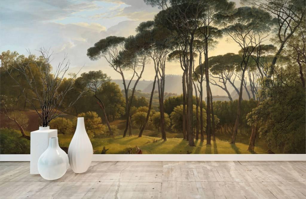 Rijksmuseum - Italiaans landschap met parasoldennen - Keuken 1