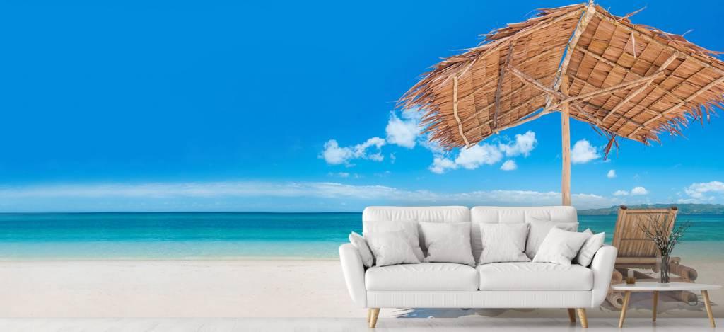 Stranden - Ligstoelen op het strand - Woonkamer 2
